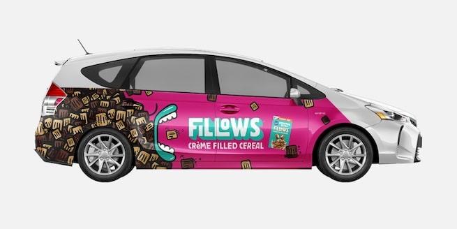 Wrapify Full Size Car Wrap Example