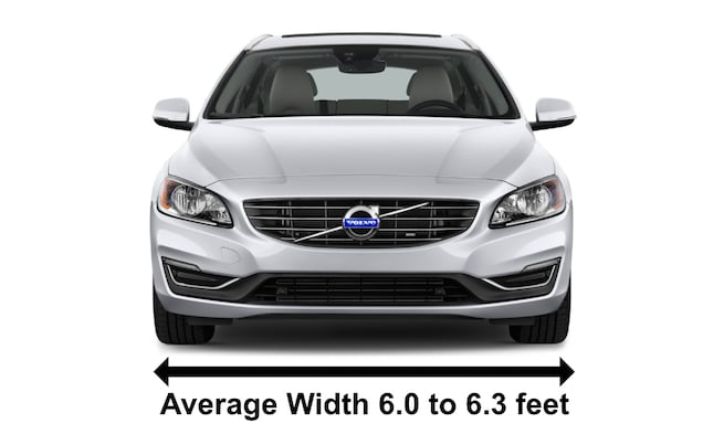 Example of a Volvo V60 Station Wagos with Averages