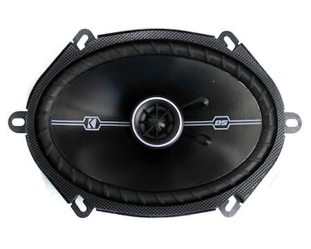 Kicker 41DSC684 D-Series 6x8 400 Watt 2-Way 4-Ohm Car Audio Speakers