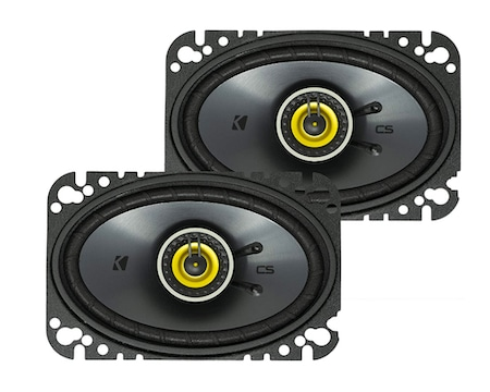 Kicker DSC46 4x6 D-Series 2-Way Coaxial Car Speakers