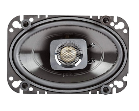 Polk Audio - Two Pairs of DB462 4x6 Coaxial Speakers - Marine Grade