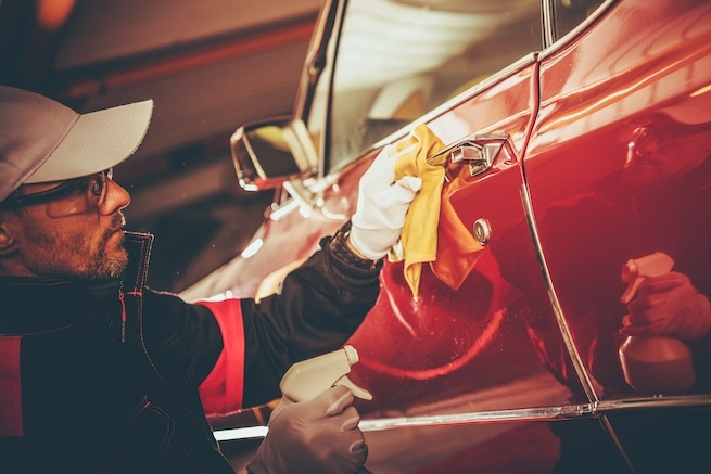 Auto Body Cleaning Before the end of the lease