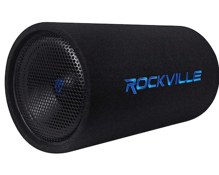 Rockville RTB12A 12 Inch 600w Powered Subwoofer Bass Tube