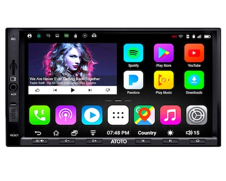 ATOTO A6 Pro A6Y2721PRB Double DIN Android GPS Navigation Stereo