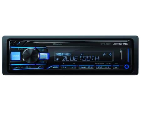 Alpine UTE-73BT Advanced Bluetooth Mech-Less Digital Media