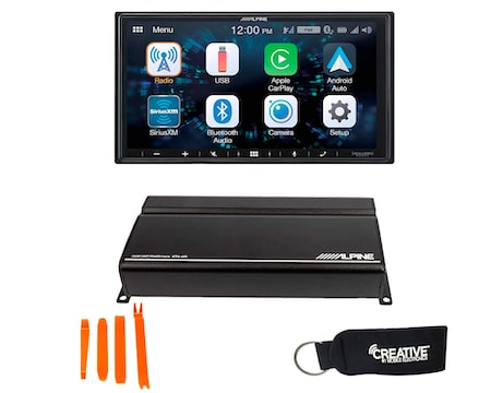 Alpine iLX-W650 Receiver Compatible with CarPlay and Android Auto