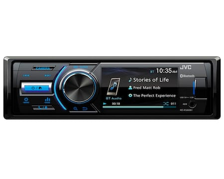 JVC - KD-X560BT - Digital Media Car & Marine Bluetooth Receiver iPhone and Android Audio