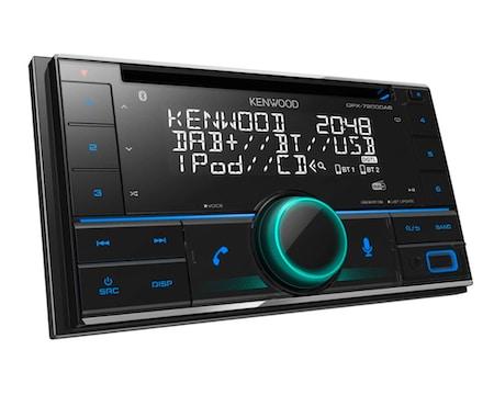Kenwood Car Audio DPX-5200BT Double Din Head Unit