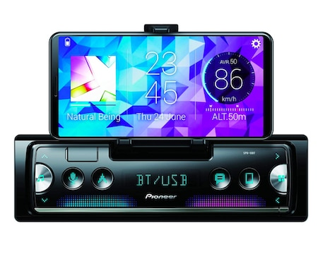 Pioneer SPH-10BT Next Generation 1-DIN Receiver with Bluetooth USB and Spotify