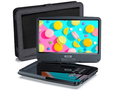 SUNPIN Portable DVD Player 12.5 Inch for Car and Kids