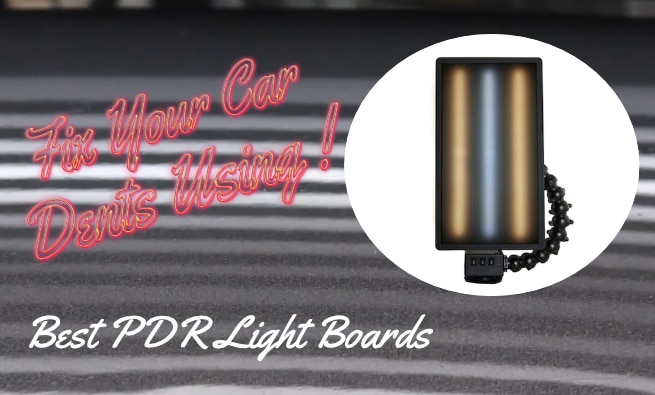 Fix your car dent using PDR Lighting