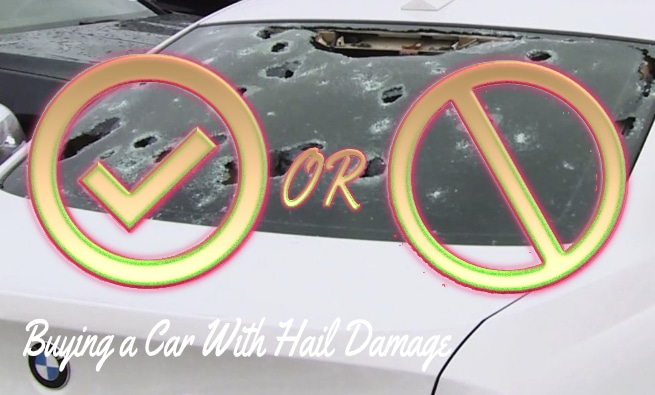 Buying a Car With Hail Damage