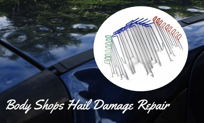 How Body Shops Repair Hail Damage
