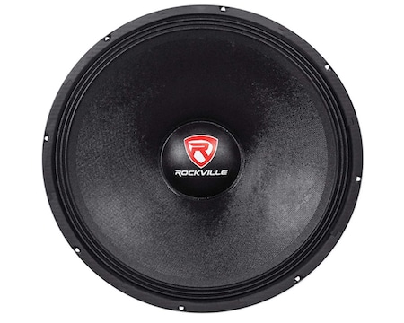 Rockville RVW1800P4 1800w Raw DJ Subwoofer